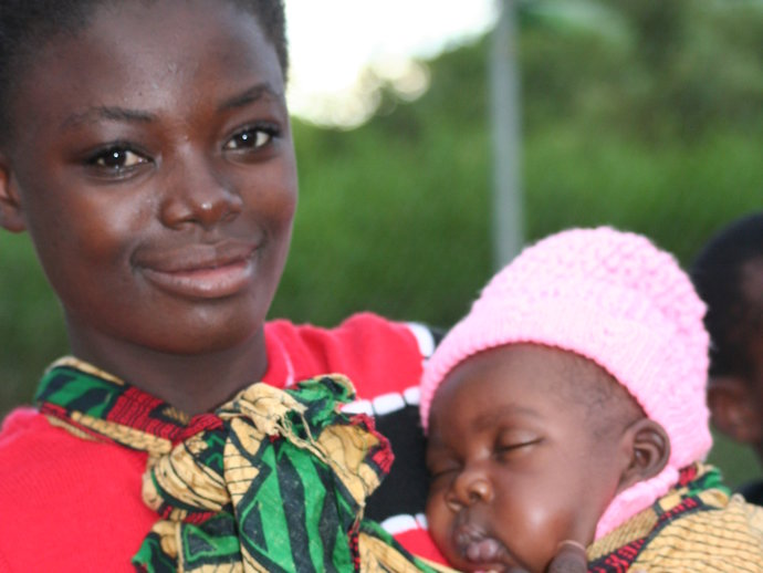 Woman with baby_Mali