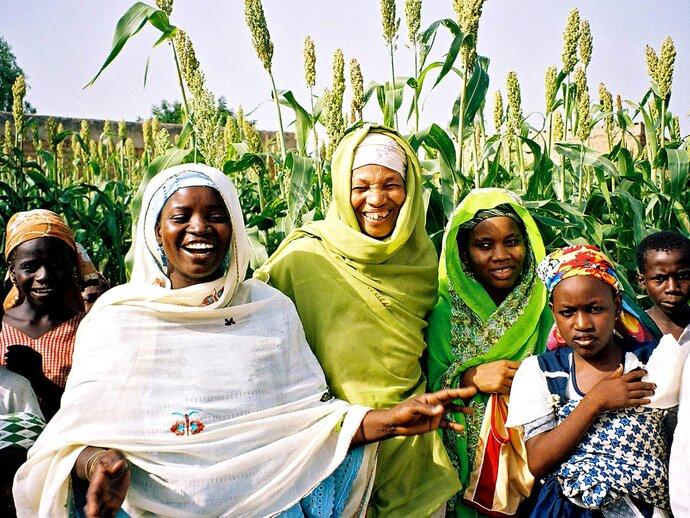 Photo: Women in the Sahel