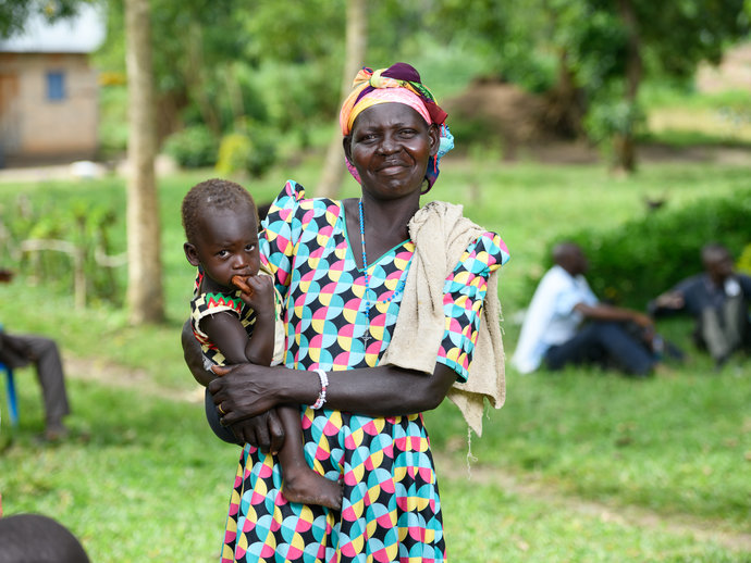 Photo: Mother and boy
