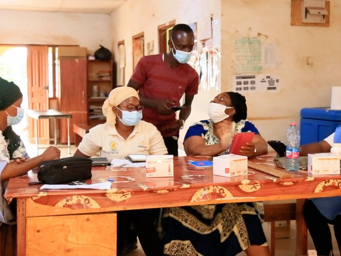 Photo: SMC community health workers