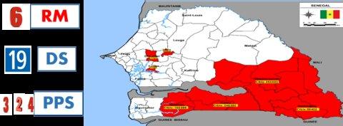 Photo: SMC eligible areas in Senegal