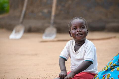 Photo: child smiling